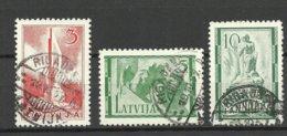 LETTLAND Latvia 1937 Michel 246 - 248 O - Lettland