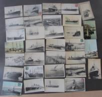 LOT De 67 CPA LE HAVRE - Les Bateaux Au Départ Ou à L' Arrivée Du HAVRE  - Lire Descriptif - 2 Scans - Le Havre