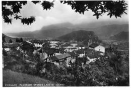 VARESE-VICONAGO-PANORAMA SFONDO LAGO DI LUGANO-1955 - Varese