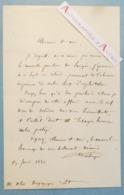 L.A.S 1840 Germain DELEBECQUE Politique à Gondecourt - à M. Alix Desgranges - Lettre Autographe LAS - Autógrafos