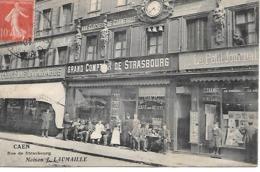 25/16    14   Caen     Rue De  Strasbourg   Maison  J. LAUMAILLE    (animations) - Caen