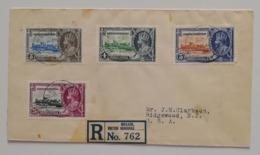 Raccomandata Belize/Honduras Per New York Anno 1935 - Honduras