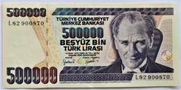 Turquie -Turkish- Billet De 500000 Lira.(obsolète).1970.très Bon état. - Turkije