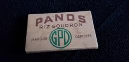 Pochette Publicitaire Papier Français Feuilles A Cigarettes  PANOS RIZ GOUDRON Marque GPD Déposé France - Altri