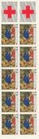 PIA - FRA -1987 : Pro Croce Rossa. Pala Della Certosa Di Champmol Dipinto Di Melchior Broederlam- Carnet - (Yv BC 2469A) - Primo Soccorso