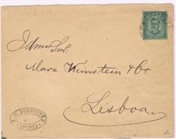 Portugal, 1895, Subscrito Porto-Lisboa - Lettres & Documents