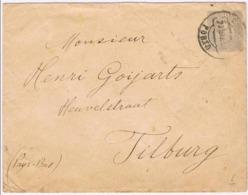 Portugal, 1892, Subscrito Porto-Tilburg - Lettres & Documents