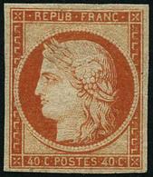* N°5 40c Orange, Quasi SC Fraicheur Postale - TB - 1849-1850 Ceres