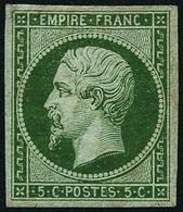 * N°12 5c Vert - TB - 1853-1860 Napoleon III
