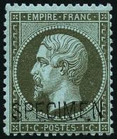** N°19 1c Olive, Spécimen - TB - 1862 Napoleon III