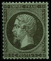 * N°19 1c Olive - TB - 1862 Napoleon III