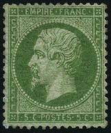 ** N°20 5c Vert - TB - 1862 Napoleon III