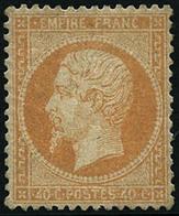 * N°23 40c Orange Quasi SC, Pièce De Luxe - TB - 1862 Napoleon III