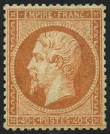 * N°23 40c Orange, Quasi SC - TB - 1862 Napoleon III