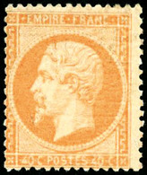 * N°23 40c Orange - TB - 1862 Napoleon III