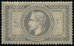 ** N°33 5F Empire, Signé Calves - TB - 1863-1870 Napoleon III With Laurels