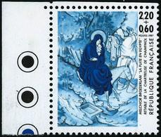 ** N°2498 Croix-rouge 1987 Bleu Foncé Et Bleu Clair - TB - France