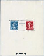 * N°2 Le Bloc Strasbourg - TB - Sheetlets