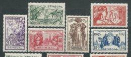 SENEGAL N° 138/43 * TB - Unused Stamps