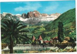 Bolzano Col Catinaccio - Bozen Gegen Den Rosengarten - Bolzano (Bozen)