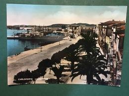 Cartolina Carloforte - Lungomare - 1954 Ca. - Cagliari