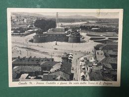 Cartolina Casale M. - Piazza Castello E Fiume Po - Visto Dalla Torre - 1946 - Alessandria