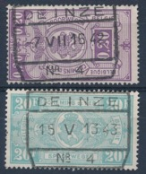 "TR 237 + 256 - ""DEINZE Nr 4"" - (ref. 29.734) - Railway"