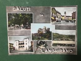 Cartolina Saluti Da Langhirano - Panorama - Piazza Garibaldi - 1966 - Parma