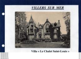 14 - Villers Sur Mer - Villa (Chalet Saint Louis) - Villers Sur Mer
