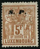 (*) N°66 5F Jaune-brun NSG - B - Luxembourg
