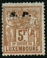 (*) N°66 5F Jaune-brun NSG - B - Luxemburgo