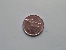 1980 (XXII Olympiade) 100 Lire / KM 108 ( For Grade, Please See Photo ) ! - San Marino