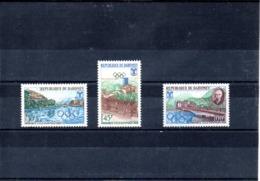 Dahomey Nº 261-63 Olimpiadas, Serie Completa En Nuevo 4,45 € - Verano 1968: México