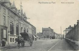 Charleroi - Marchienne-au-Pont - La Route De Beaumont - Attelage Et Tram - Charleroi