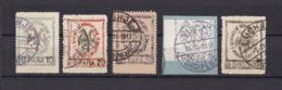 Albanien - 1913 - Michel Nr. 24/28 - 38 Euro - Albania