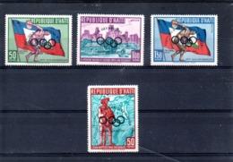 Haiti Nº 430 + Aereo 184-86 Olimpiadas, Serie Completa En Nuevo 15 € - Juegos Olímpicos