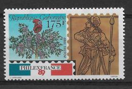 GABON 1989 Philexfrance 89 - Franz. Revolution