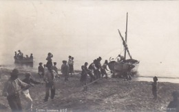 Sestri Levante - Pescatori - 1923            (191110) - Pesca
