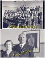 Photo , Ww2 , WwII , Wk2 , Hitler , école , Klassenfoto , Schulklasse , Salle De Classe , Reich , Propaganda , Enfant . - Lieux