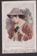 B37 /   Doubek Frauen Litho / Leonore , Beethoven Fidelio 1900 - Doubek, F.