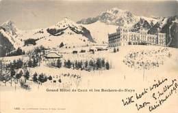 Switzerland Grand Hotel De Caux Et Les Rochers-de-Naye AK 1898 - Switzerland