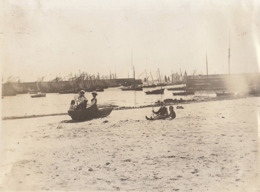 1907 Photo Quiberon Port Bateau - Lugares
