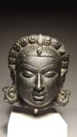 Head Of Yakshi Stone-Pala Period - Art Asiatique