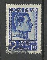 FINLAND FINNLAND 1937 Marssal Mannerheim Michel 203 O - Finland