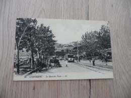 Carte Photo 13 Bouches Du Rhône Marseille L'Estaque Le Quai Du Port Tram Tramway - L'Estaque