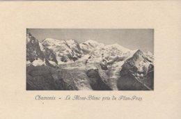 74 CHAMONIX MONT BLANC GLACIER DES BOSSONS GLACIER TACONNAZ LE MONT BLANC PRIS DE PLANPRAZ  Editeur JULLIEN FRERES - Chamonix-Mont-Blanc