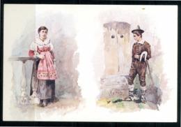 S. CHIRICO RAPARO (PZ) - Contadini Nell'Ottocento -  Cartolina Non Viaggiata. - Potenza
