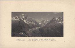 74 CHAMONIX MONT BLANC CHALET DE LA FLEGERE GLACIER DE LA MER DE GLACE  Editeur JULLIEN FRERES - Chamonix-Mont-Blanc