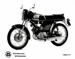 Motobecane 125LT1  24*17 +- Cm Moto MOTOCROSS MOTORCYCLE Douglas J Jackson Archive Of Motorcycles - Coches