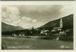 AK AUSTRIA - LIENZ - OSTTIROL - PARTIE A.D. ISEL - RPPC POSTCARD 1950s (BG5641) - Lienz